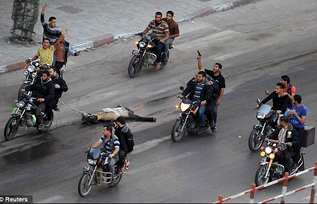 Extrajudicial Execution of Palestinian During Gaza War