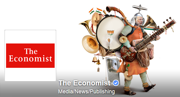 The Economist page on facebook