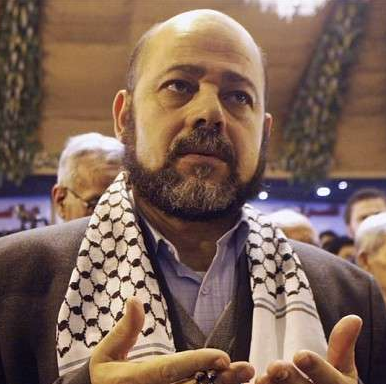 Mousa Abu Marzouk of Hamas – Photo AFP