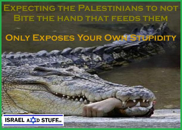 Palestinian Bites the hand that feeds him - IsraelandStuff PP