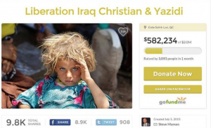 CYCI fundraising page
