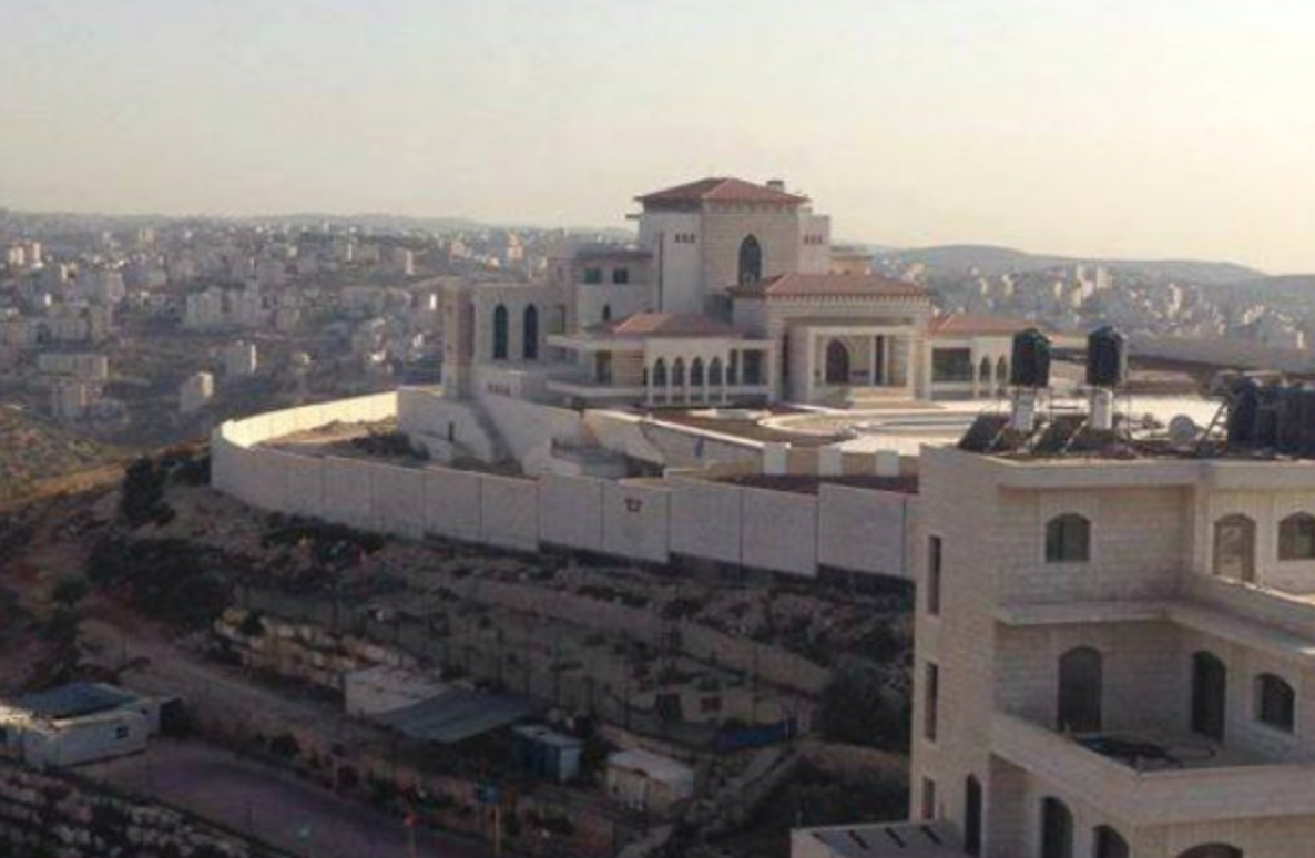 Personal residence of Mahmoud Abbas, the leader of the Palestinian Authority. - Photo: Facebook