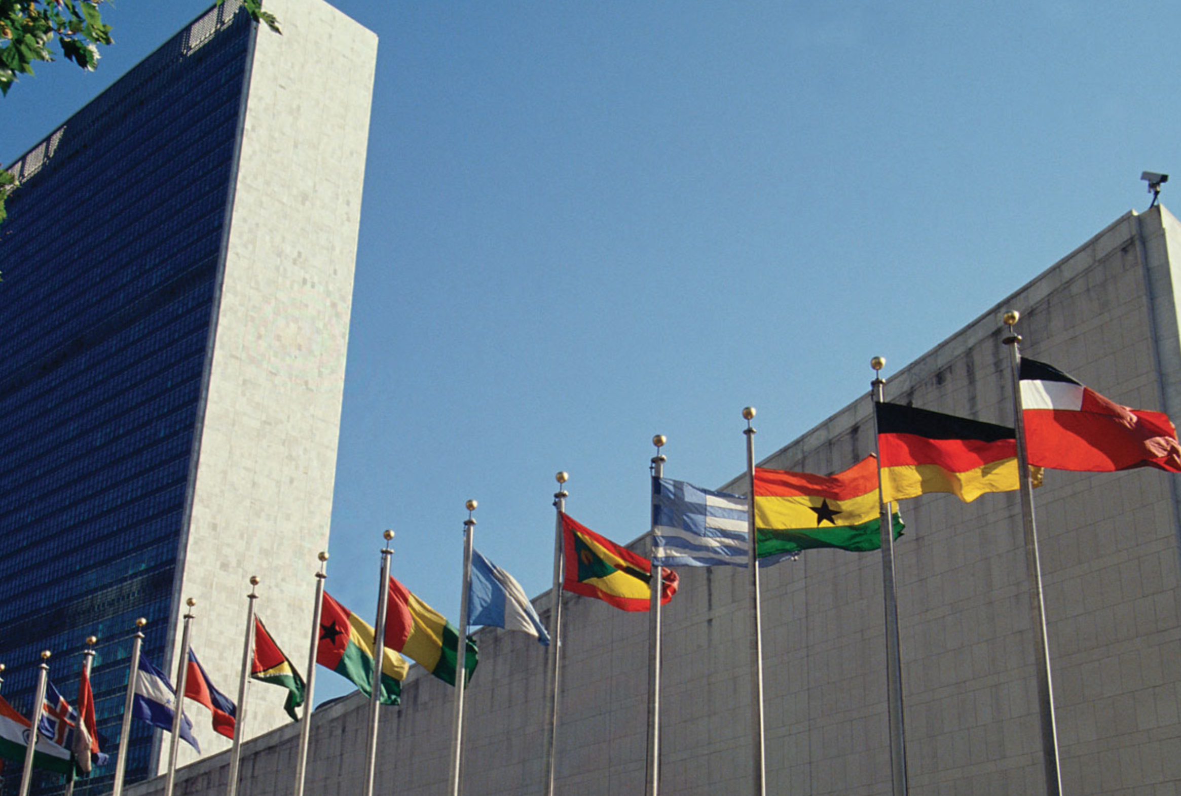 UN member nations flags fly in NYC - Kids Britannica