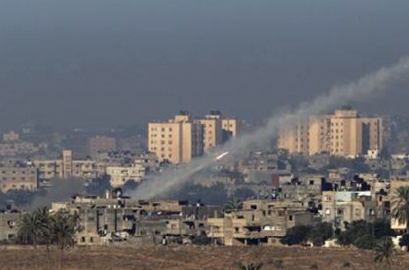 Two rockets were fired by Palestinians in Gaza - Photo : Sderot Media Center