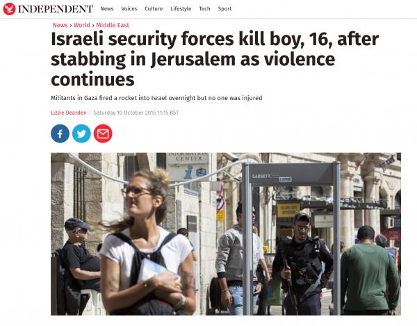 Independent Headline Screenshot