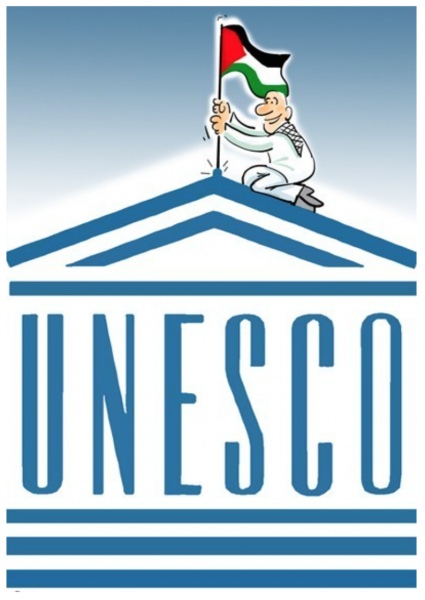 UNESCO PA Flag on roof