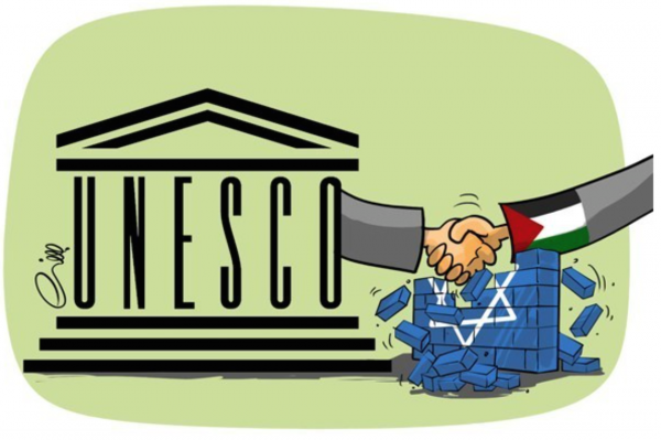 UNESCO with PA handshake