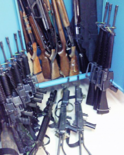 Weapons Cache - Photo: IsraelandStuff/PP