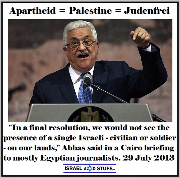 Apartheid is Palestinian