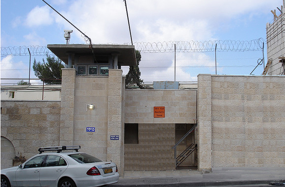 The outside area of Rachel's Tomb had been fortified by the IDF to assure the safety of all visitors.