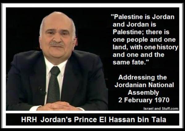 Palestine is Jordan, Jordan is Palestine