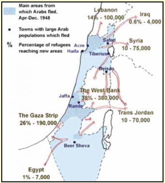 Screen Shot - Refugee map