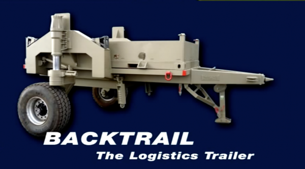 Backtrail Logistics Trailer for the IDF - YouTube Screenshot