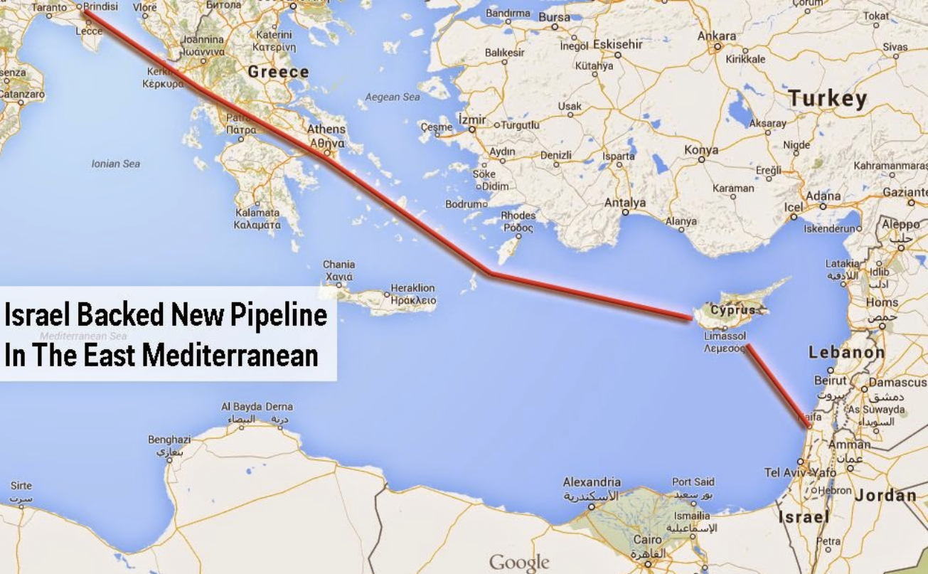 Israel Natural Gas Pipeline