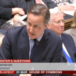 UK PM David Cameron tells Jeremy Corbyn to 'sort out' Labour's antisemitism problem - Screenshot