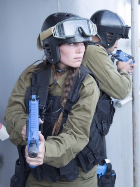 Noble Dina joint training excersize - Photo by IDF Spokesperson's Unit