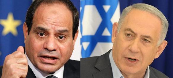 Egyptian President Abdel-Fattah al-Sissi. (AP) & sraeli Prime Minister Binyamin Netanyahu (Amos Ben Gershom)