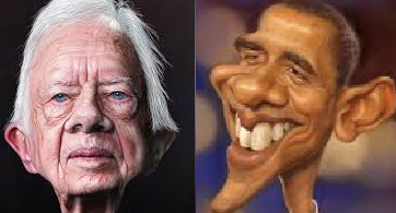 Obama's unprecedented move to change decades of pro-Israel policy places him side-by-side with Jimmy Carter