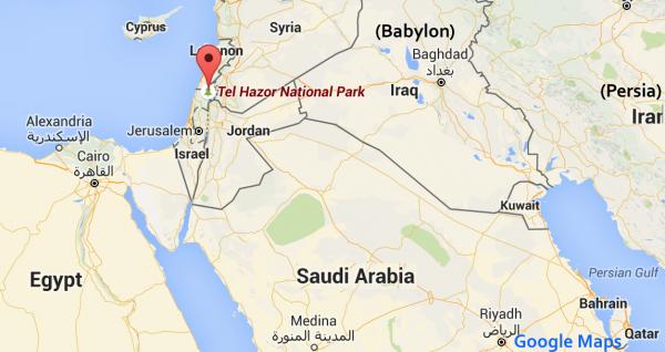 Hazor - Google Maps
