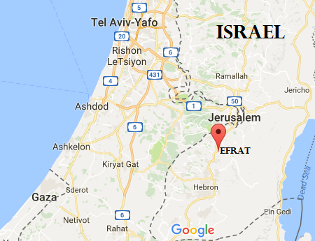 Efrat - Google map