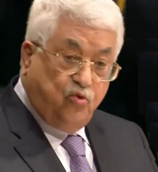 Mahmoud Abbas of the Palestinian Authority - Screenshot PP YouTube