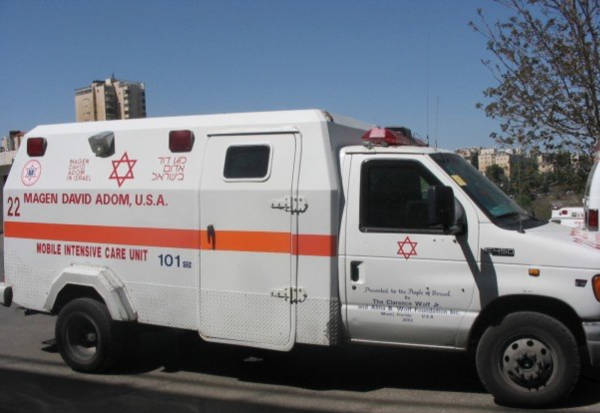 Armored mobile intensive care unit used by Israel's Magen David Adom - Photo: Wikipedia Commons