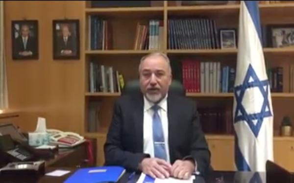 avigdor-lieberman-defense-minister-of-israel-screenshot-facebook-video