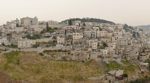 Ras al-Amud neighborhood in eastern Jerusalem - Photo: Wikipedia Commons