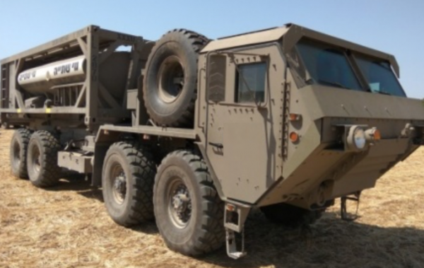 The Camel II water delivery system - Photo: IDF Spokesperson's Unit