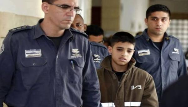 Ahmad Manasra, 14, was sentenced to 12 years in prison for stabbing a 13yr-old & 21yr-old in Jerusalem - Arab media