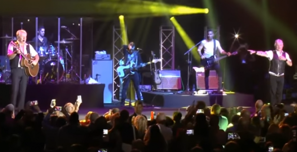 Air Supply, live in Tel Aviv Nov 25, 2016- YouTube screenshot