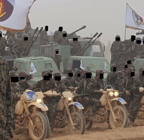 Hezbollah heavy weapons and quick response motorcycle unit on display - Arab media