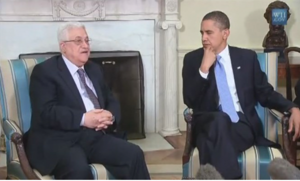 Obama and Abbas Meet - Photo: White House