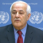 Palestinian envoy to U.N. Riyad Mansour - YouTube screenshot
