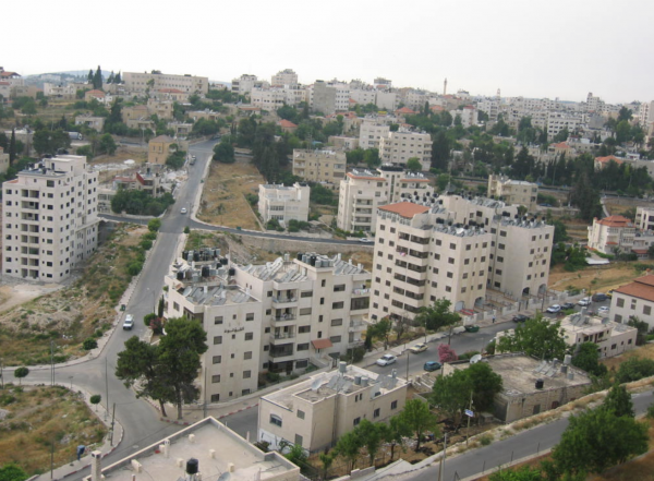 Residential neighborhood in Ramallah - Photo: Ramallite/Wikimedia Commons