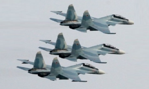 Russian fighter jets - File Photo