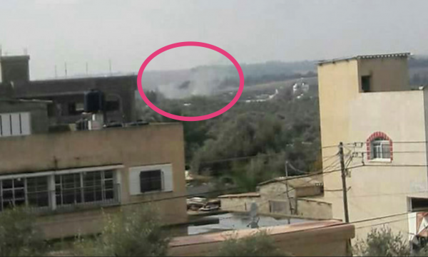 IDF tank-shells hit Hamas post east of Bureij, Gaza in responce to attack on IDF patrol on Israel's border. - not attributed