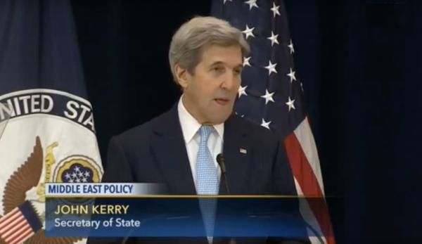 John Kerry - YouTube screenshot