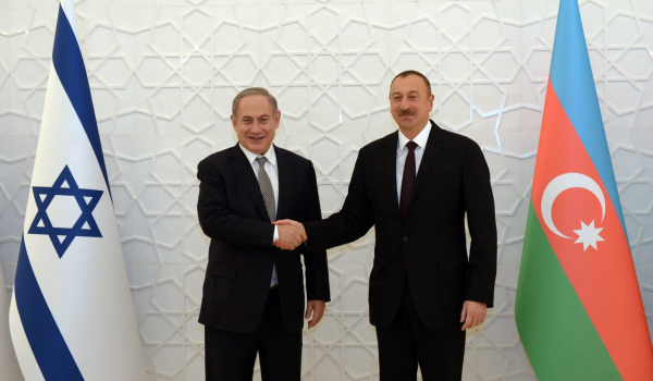 Prime Minister Benjamin Netanyahu meets with President of Azerbaijan Ilham Aliyev - Photo: Haim Zach, Israel's GPO