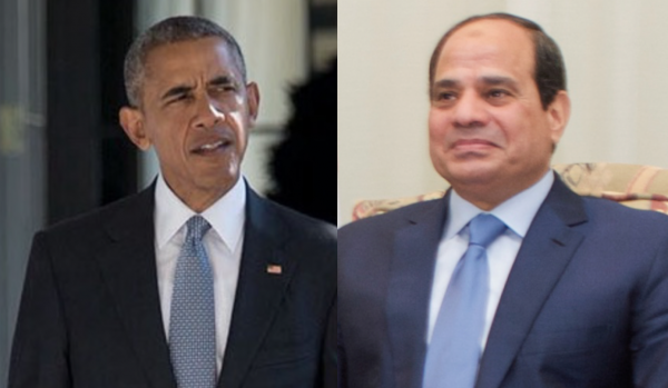 US's Obama vs Egypt's Fattah al-Sisi, who's the most dependable? - Wikimedia Commons
