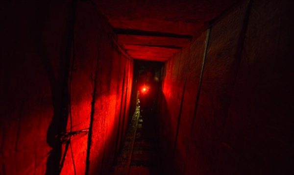Gaza terror tunnel - Photo: IDF Spokesperson's Unit