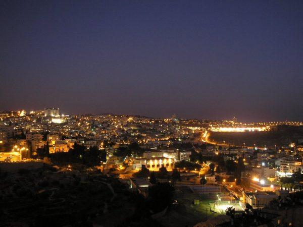 Nazareth at night - Photo: Wikimedia Commons