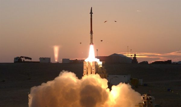 Magic Wand missile launch - Photo: Israel's Defense Ministry