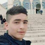 Selfie taken by the knife-stabbing terrorist Ahmad Jazal on the Temple Mount