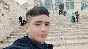 Selfie taken by the knife-stabbing terrorist Ahmad Jazal on the Temple Mount