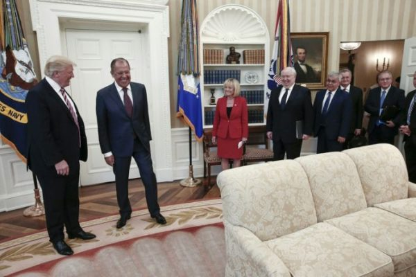 Image result for trump and russian foreign minister and ambassador