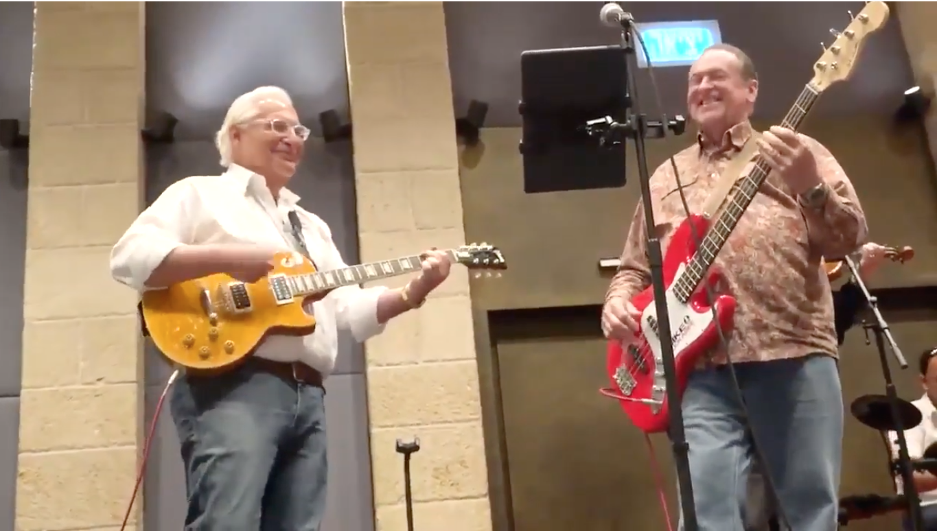 Israel and Stuff » U S  Ambassador Friedman jams with Mike