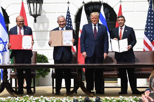 Israel makes history with UAE & Bahrain peace accords brokered by Trump